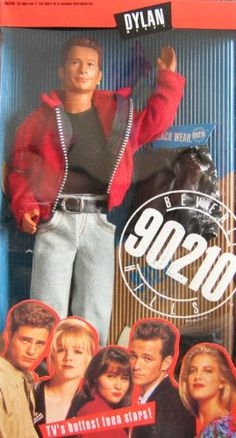 Dylan Mckay Doll; Beverly Hills 90210 - Luke Perry @ niftywarehouse.com