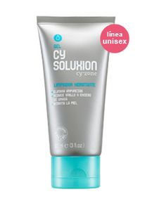 Gel Limpiador Hidratante Cy soluxion de Cyzone - Bye bye al brillo y a lasImpurezas en el rostro.