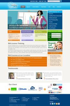 Training Website Design 4