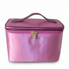 All kinds Cosmetic Bags, based on your ideas any kind of colours, fabric and size can be produced. Cosmetic Bag, Lunch Box, Satin, Cosmetics, Colour, Makeup, Bags, Color, Make Up