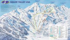 Squaw Valley, CA - KT 22 on a powder day ...