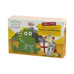 Two by Two George & The Dragon Biscuits available from The Fine Cheese Co. website - finecheese.co.uk
