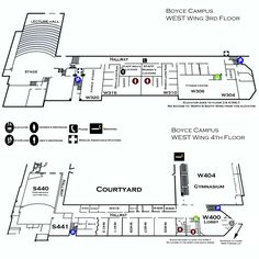 9 Best CCAC Boyce Campus Maps images | Campus map, Blue prints, Cards