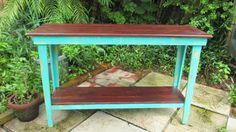 Canapé Table Table d'appoint bois récupéré Shabby par PalletsNstuff