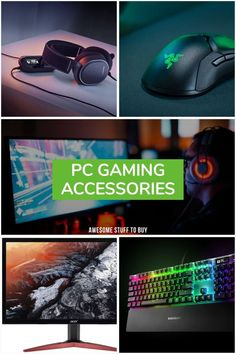 PC Gaming Accessories // Awesome Stuff to Buy Gaming Headphones, Gaming Headset, Best Pc, Gaming Accessories, Fire Emblem Awakening, Single Player, Gaming Setup, Best Player, Pc Gamer