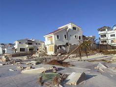 Hurricane Wilma Aug 2005 Puerto Morelos Yucatan Photos - Wilma made several landfalls, with the most destructive effects felt in the Yucatán Peninsula of Mexico,