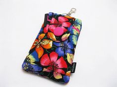 SALE & Ready to ship Fabric iPhone 5 5s 5c Case by KapomCrafts, $18.00