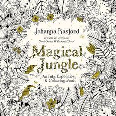 Magical Jungle: An Inky Expedition & Colouring Book (Colouring Books): Amazon.co.uk: Johanna Basford: 9780753557167: Books