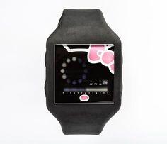 Nooka x Hello Kitty Zub Zirc Black Wristwatch