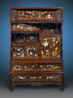 Antique Japanese Furniture, Meiji Antiques, Japanese Meiji Cabinet ~ M.S. Rau Antiques