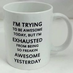 LOL - Being awesome...
