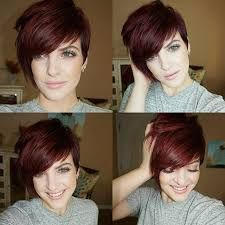 Image result for asymmetrical pixie cuts for round faces women over 50