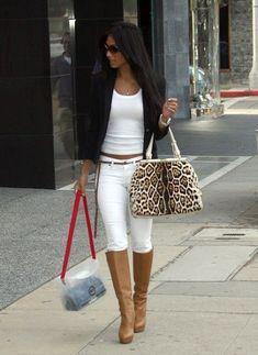 pantalon blanco mujer combinar - Buscar con Google
