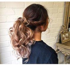 Signature textured ponytail by Natalie Anne Hair