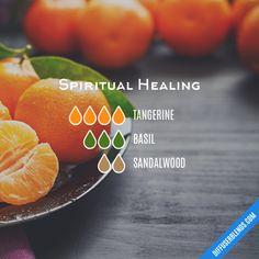 Spiritual Healing - Essential Oil Diffuser Blend