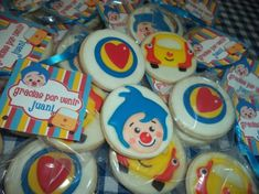 Plim Plim - Voz original personaje 2nd Birthday Party Themes, Carnival Birthday, Happy Birthday, Magnum Paleta, Oreo, Cupcakes, Cookies, Alonso, Yui