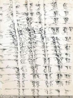 Henri Michaux. 'Mescaline Drawing'. Ink on paper. Date unknown. #henrimichaux #art