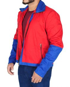Baywatch Dwayne Johnson Red Jacket Red Costume, Costumes, Baywatch, Dwayne Johnson, Celebs, Celebrities, Shirt Style, Red And Blue, Zipper