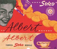 Ambalaža Albert keksa, 1959.