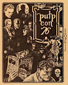PULP CON 76 cover, by Frank Hamilton. Pulp Art, Savage, Hamilton, Seeds, Artists, Cover, Movie Posters, Film Poster, Artist