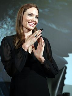 Here are some more photos of Angelina Jolie in Shanghai yesterday, where she was promoting the Chinese release of Maleficent.