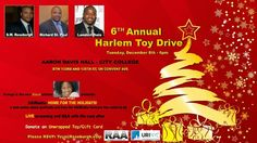 Join us TODAY for the Annual Harlem Toy Drive at Aaron Davis Hall and meet Tanya Wright! Black Actresses, City College, Orange Is The New Black, Toy, New York, December, Meet, Holidays, New York City