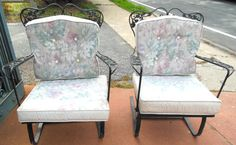 Chairs, Woodard Orleans Bouncer, SOLD
