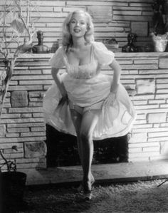 Betty Brosmer.... google her she has quite a story.  Started Shape Magazine