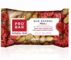 If you have to skip a meal, grab a high-calorie bar with extra fiber and protein like this one