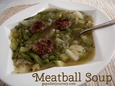 Meatball Soup - GAPS Diet Journey