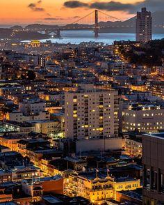 City views of San Francisco, CA