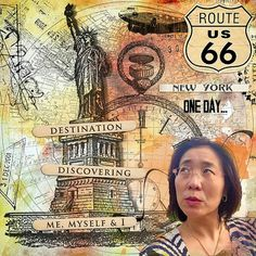 New York Supplies: Val C. Designs: Carnet de Voyage Font: Manhattan