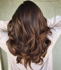 Light Brown Balayage For Thick Hair
