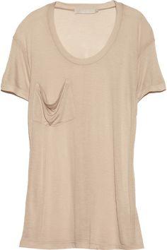 Kain|Classic modal and silk-blend T-shirt|NET-A-PORTER.COM