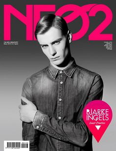 Ben Allen cover the May 2013 issue of Neo2 magazine, shot by José Morraja and styled by Nirave with a shirt from Tommy Hilfiger.