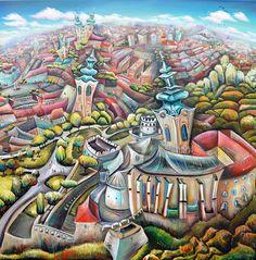 Nitriansky hrad a okolie – LUCIA CHOCHOLACKOVA