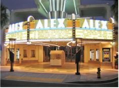 Known for its iconic Art Deco neon tower, The Alex Theatre is an all-purpose event venue that has hosted award shows, film screenings, ballets, and concerts. The historic Glendale theater can be booked starting from $3000.