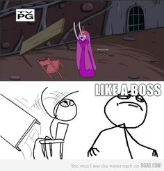 Flipping a table, like a boss. Table Flip, A Table, Adventure Time, Finn The Human, Funny Memes, Jokes, Jake The Dogs, What Time Is, Bubbline
