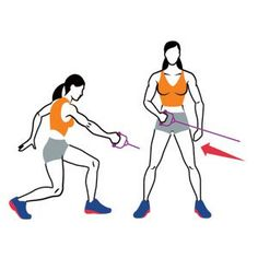 Medicine-Ball Reverse Lunge and Shot Put  http://www.womenshealthmag.com/fitness/twist-exercises