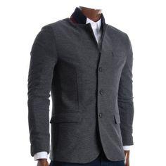 Best Summer Fashion Part 9 Sharp Dressed Man, Well Dressed, Gray Jacket, Blazer Jacket, Casual Blazer, Dress For Success, Gentleman Style, Slim Man, Parka