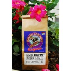 Biodynamic Compost Tea Bags from Malibu, California with Fertilizers and Compost. Biodynamic Gardening, Compost Tea, Outdoor School, Organic Farming, Farmers Market, Bag Making, Malibu California, Brewing, 2 Gallons