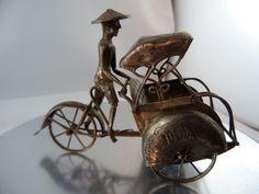 Rikscha Fahrrad Metall nicht magnetisch Adelsbesitz