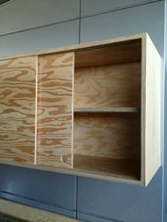 Lovely Garage Cabinets with Sliding Doors