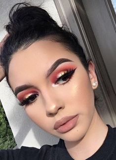 Pin by Alii Bor on make up in 2018 Gorgeous Makeup, Love Makeup, Makeup Inspo, Makeup Inspiration, Casual Eye Makeup, Makeup Blog, Makeup Tips, Beauty Makeup, Drugstore Makeup