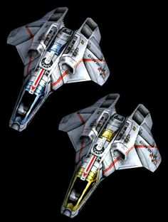 Star Trek: two-man spacefighters.  Smaller, combat-ready dogfighters.