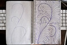 LuAnn Kessi: Sketch Book.....more Spine Designs