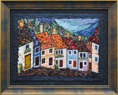 Mosaic. Альпийская деревушка