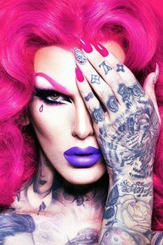 Liquid Lipstick by Jeffree Star Cosmetics, Drag Makeup, Drag Queen, RPDR? Star Makeup, Lip Makeup, Makeup Tips, Lady Gaga, T Rex Tattoo, Tattoo Designs, Velour Liquid Lipstick, Queen Makeup, Star Nails