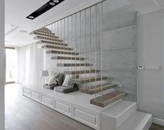Średnie schody, styl nowoczesny - zdjęcie od 3deko