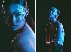 Dublin Portrait and Fashion Photography - Studio Lighting Tutorial - Rim Light & Color Gels